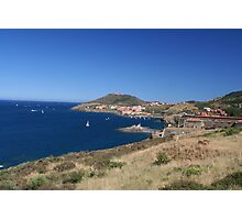 Collioure France Port Photographic Print