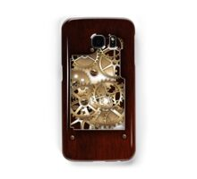 Brass and wood Steampunk cover Samsung Galaxy Case/Skin