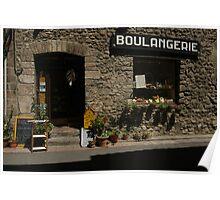 Boulangerie a Villefranche, France Poster