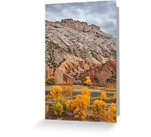 Split Mountain Color Greeting Card
