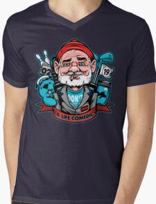 A Life Comedic Mens V-Neck T-Shirt