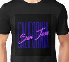 Retro 80s San Jose, California Unisex T-Shirt