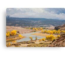 Green River Color Canvas Print