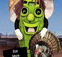 Happy Thanksgiving with Dolly Dill includes Greeting by Terri Chandler