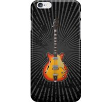 Hollow Body Guitar iPhone Case/Skin