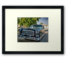 1953 Nash Statesman Super Framed Print