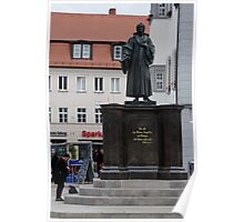 Martin Luther's Wittenberg 47 Poster