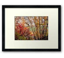 Brush of Color Framed Print