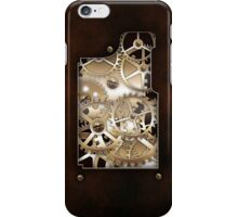 Walnut and Brass Steampunk cover. iPhone Case/Skin