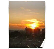 Ottawa Sunrise Poster