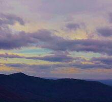 Purple Mountain Panorama by Scott Mitchell
