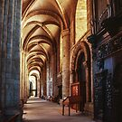 South aisle Durham Cathedral 198101040033  by Fred Mitchell