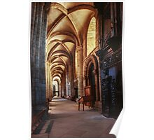 South aisle Durham Cathedral 19810104 0033  Poster