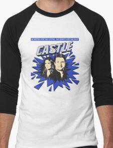 Castle Comic Cover Men's Baseball ¾ T-Shirt