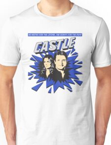 Castle Comic Cover Unisex T-Shirt