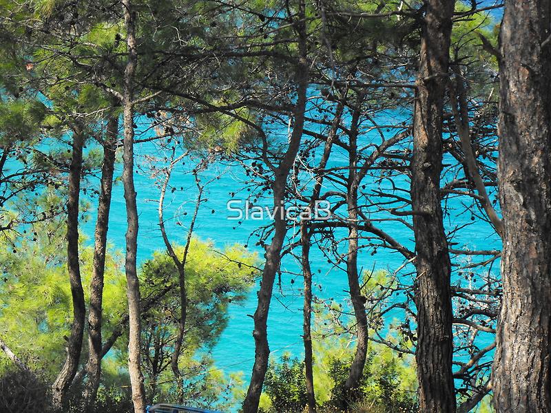 Greek Island Beach Samos 2 #photography by SlavicaB