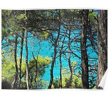 Greek Island Beach Samos 2 #photography Poster