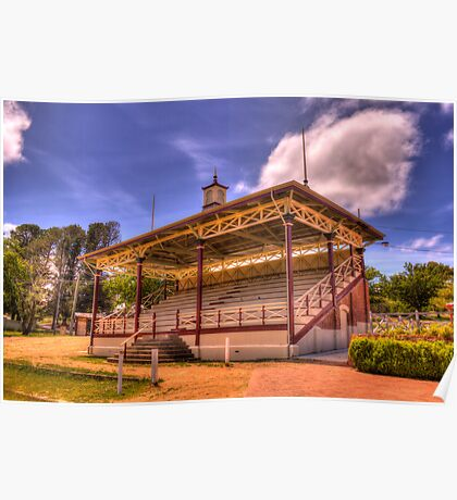 Grandstand Cooma Showground NSW Poster