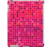 Red Mosaic [iPhone / iPad / iPod Case] iPad Case/Skin