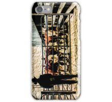 Dalkeith Bull Sale - Behind The Scenes, Photo Painting iPhone Case/Skin
