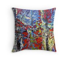 Oil Painting Wall Art Throw Pillow