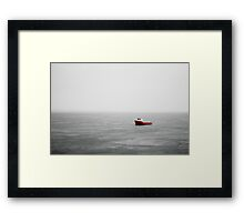 Rainboat Framed Print