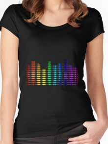 Turn it up Women's Fitted Scoop T-Shirt