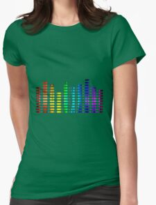Turn it up Womens Fitted T-Shirt