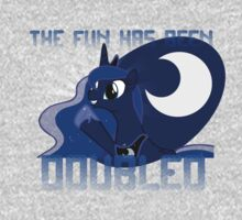 "Princess Luna ""The Fun Has Been Doubled"" One Piece - Short Sleeve"
