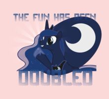 """Princess Luna """"The Fun Has Been Doubled"""" One Piece - Long Sleeve"""