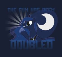 "Princess Luna ""The Fun Has Been Doubled"" Kids Tee"