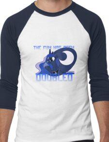 "Princess Luna ""The Fun Has Been Doubled"" Men's Baseball ¾ T-Shirt"