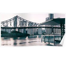 Story Bridge in Brisbane Poster
