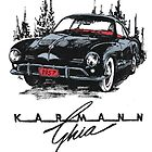 Karmann Ghia by bulldawgdude
