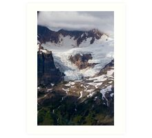 One of Many Glaciers on Mt Baker Art Print