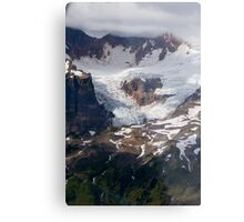 One of Many Glaciers on Mt Baker Metal Print