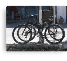 Greek Island Samos cycling #photography Canvas Print
