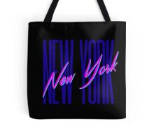 Retro 80s New York City, NY Tote Bag