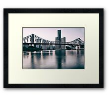 Story Bridge in Brisbane Framed Print
