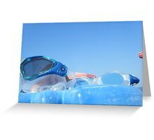 Goggles in the sky #photography Greeting Card