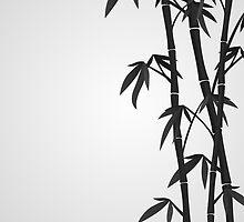 Bamboo stems by Marta Jonina