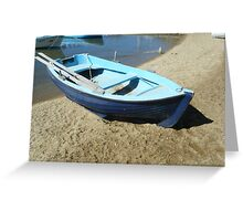 Greek blue bloats #photography Greeting Card