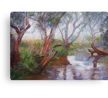 Moorabool Reflections Canvas Print