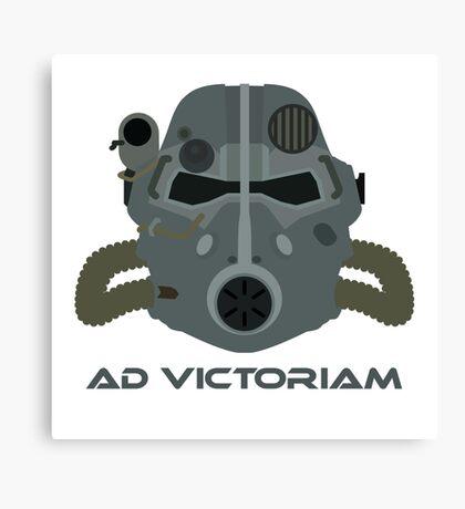 Brotherhood of Steel T-45 Helmet Canvas Print