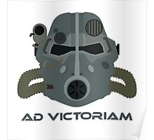 Brotherhood of Steel T-45 Helmet Poster
