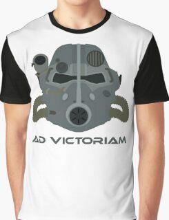 Brotherhood of Steel T-45 Helmet Graphic T-Shirt