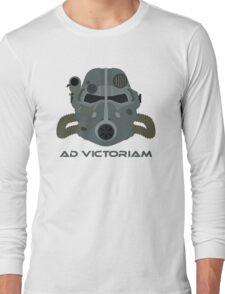 Brotherhood of Steel T-45 Helmet Long Sleeve T-Shirt