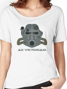 Brotherhood of Steel T-45 Helmet Women's Relaxed Fit T-Shirt