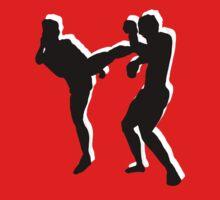 kickboxing t-shirt Baby Tee