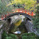 Shimogamo ohashi by Jenny Hall